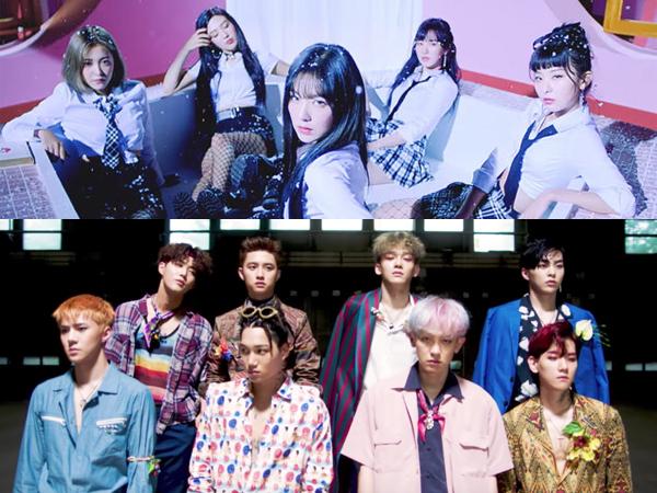 Begini Kerennya Jika Lagu 'Bad Boy' Red Velvet dan 'Ko Ko Bop' EXO Disatukan