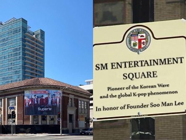 Pionir K-Pop, SM Entertainment Resmi Jadi Nama Jalan di Los Angeles