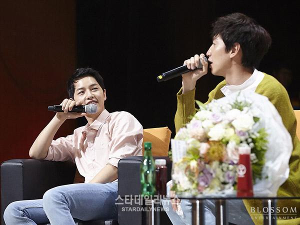 Ternyata Song Joong Ki Pernah Dibuat Nangis Karena Sikap Lee Kwang Soo?