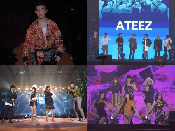 Rich Brian Hingga (G)I-DLE Sukses Pecahkan Panggung Spotify On Stage 2019