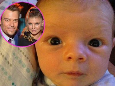 Imutnya Anak Fergie 'Black Eyed Peas', Axl Jack Duhamel!