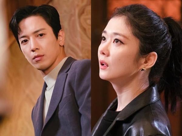 Jang Nara dan Jung Yong Hwa Tunjukkan Ketegangan di Drama 'Sell Your Haunted House'