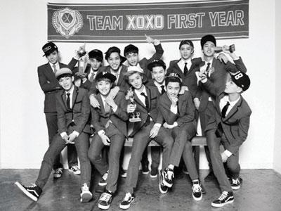 Rilis Album Pertama, EXO Rajai Berbagai Chart Musik