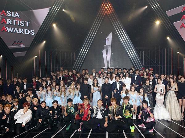 Ajang 'Asia Artist Awards 2018' Siap Digelar Lebih Meriah dengan Teknologi Canggih