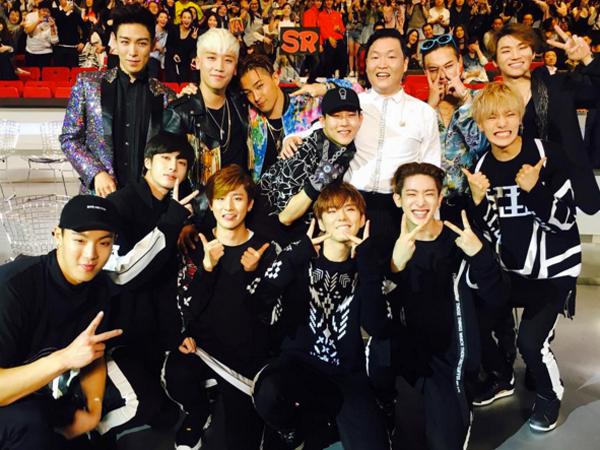 Seungri Berterima Kasih pada Monsta X Untuk Tetap Berada di Venue Sampai Akhir Acara MAMA 2015