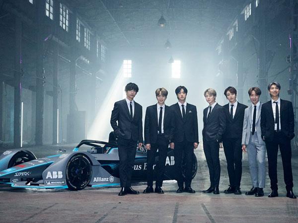 Formula E Resmi Tunjuk BTS Jadi Brand Ambassador Global Baru