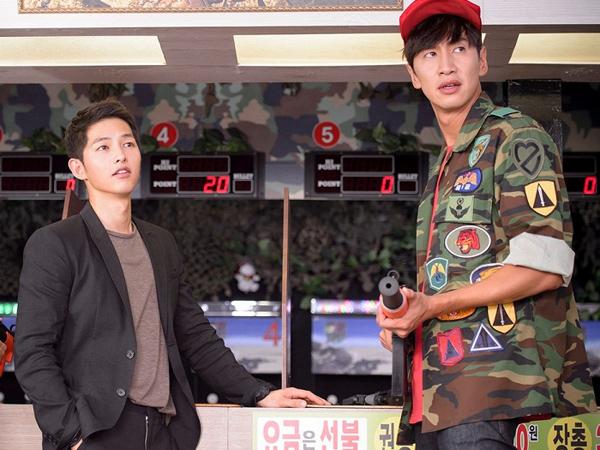 Song Joong Ki Dan Lee Kwang Soo Terlihat Tengah Syuting 'The Sound Of Your Heart'