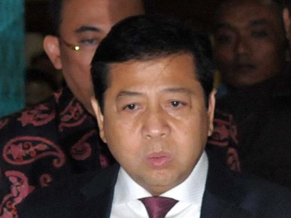 Ketua DPR Setya Novanto Ditetapkan Sebagai Tersangka Kasus Megakorupsi e-KTP