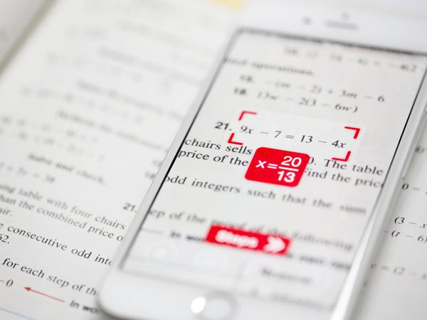 PhotoMath, Aplikasi Kamera Ponsel Instan yang Dapat Pecahkan Soal Matematika!