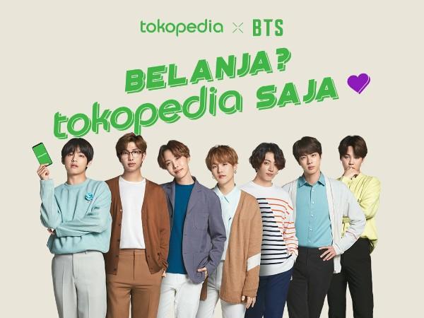 Tokopedia Resmi Gandeng BTS Sebagai Brand Ambassador