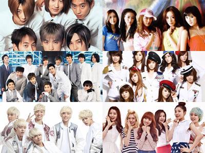 Boyband Girlband Korea, Dahulu dan Sekarang
