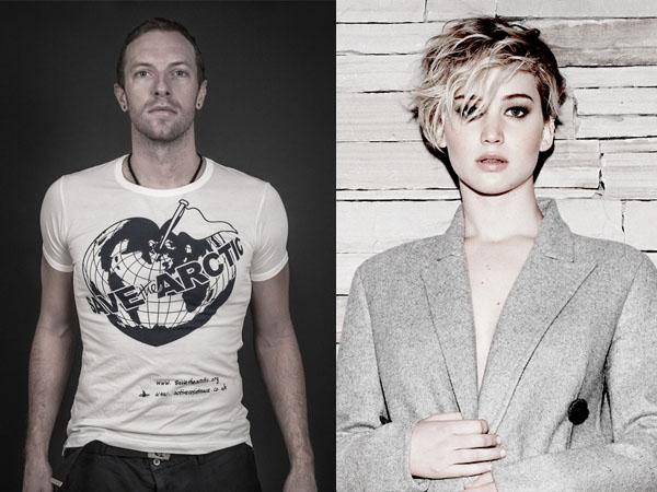 Kembali Terlihat Bersama, Chris Martin dan Jennifer Lawrence Balikan?