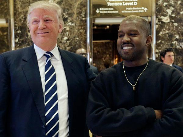 Saling Dukung, Donald Trump Undang Kanye West ke Gedung Putih Bahas Isu Sensitif
