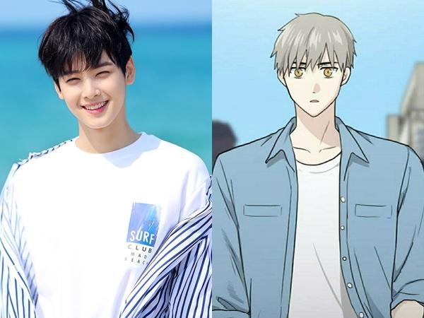 Eunwoo ASTRO Digaet Jadi Pemeran Utama Drama Adaptasi Webtoon Populer, 'Gangnam Beauty'!