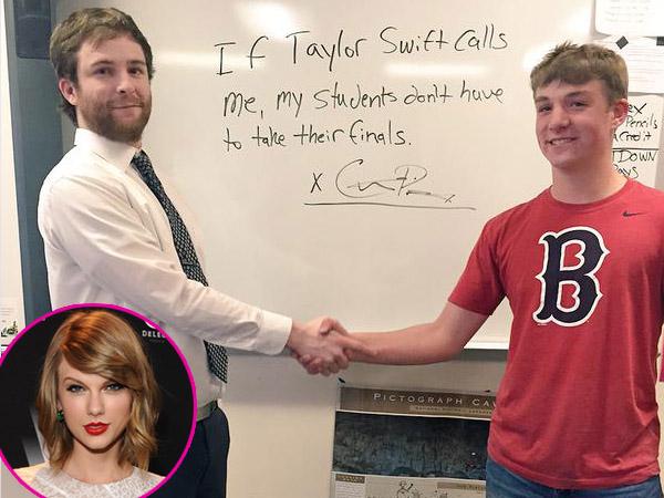 Guru SMA Ini Janji Batalkan Ujian Jika Ditelepon Taylor Swift!!