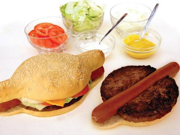 Lagi, Ini Varian Terbaru Kreasi Gabungan Makanan Hamburger dan Hot Dog