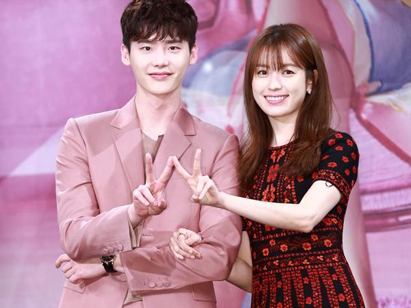 Intip Gaya Fashion Lee Jong Suk dan Han Hyo Joo di Jumpa Pers Drama 'W'