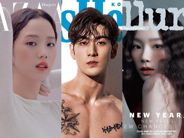 Intip Gaya Deretan Selebriti yang Hiasi Sampul Majalah Edisi Januari 2020