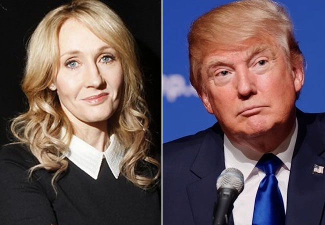 JK Rowling Sebut Tingkah Donald Trump Lebih Buruk Daripada Voldemort