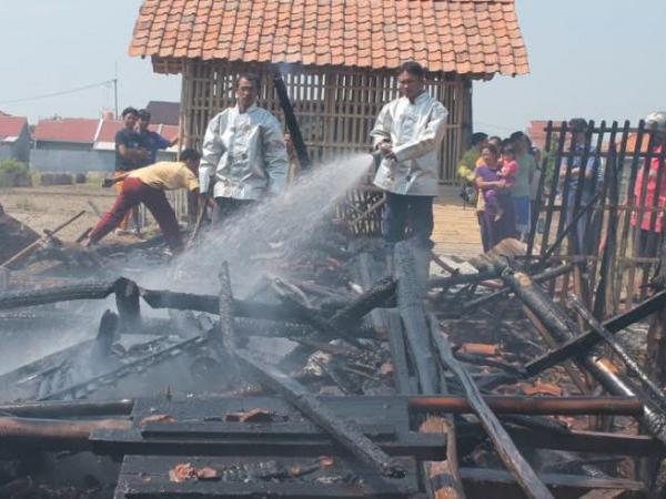 Kandang Terbakar, Ratusan Kambing Kurban Terpanggang