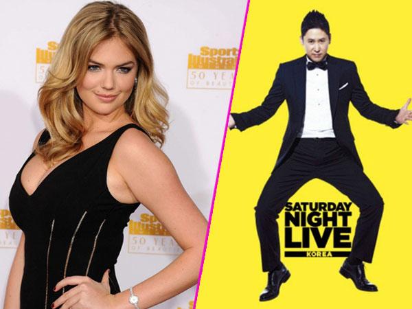 Wah, Kate Upton Ikut Bintangi SNL Korea Episode Minggu Ini?