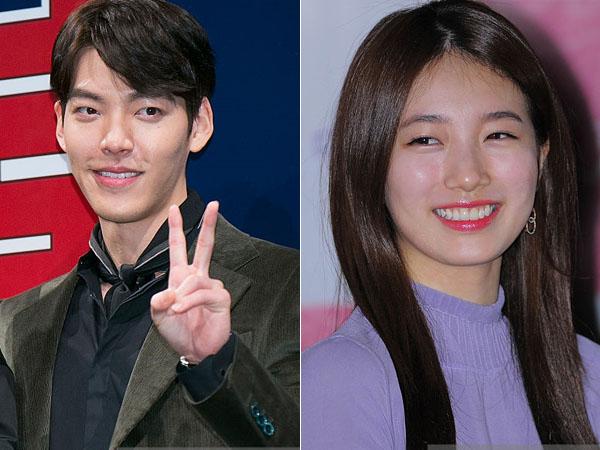 Lagi, Kim Woo Bin dan Suzy Nampak Serasi di Belakang Layar 'Uncontrollably Fond'