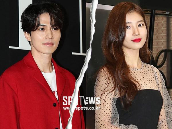 Baru Empat Bulan, Agensi Konfirmasi Lee Dong Wook dan Suzy Putus!