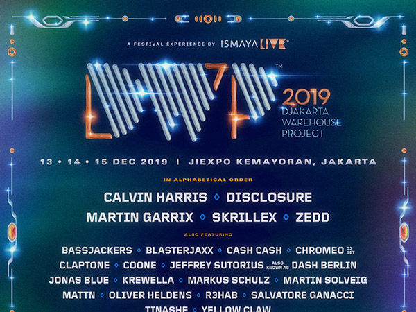 Intip Line-Up Lengkap dan Detil Harga Tiket Djakarta Warehouse Project 2019