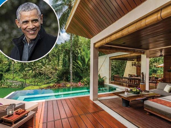 Mengintip Tempat Menginap Obama di Bali dengan Tarif 95 Juta Semalam
