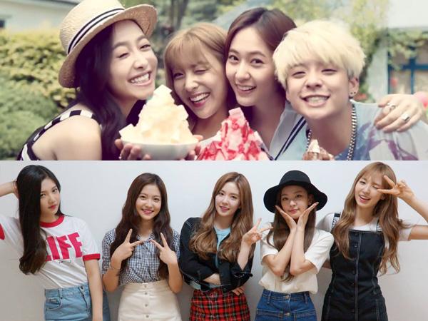 f(x) dan Red Velvet akan Comeback di Waktu Bersamaan di Musim Gugur Mendatang?