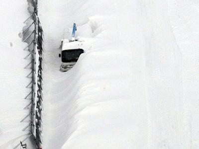 Diterjang Badai Salju, Seorang Ayah Tewas Sambil Peluk Sang Anak