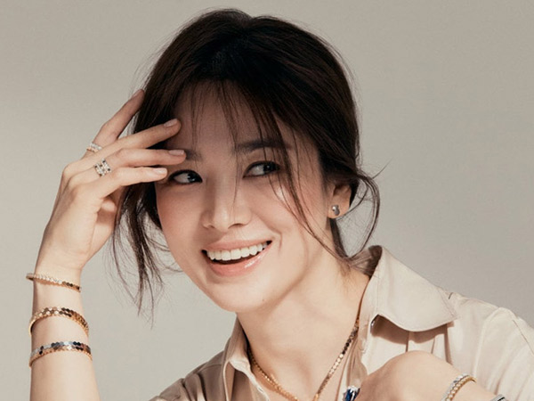 Song Hye Kyo Beri Semangat untuk Fans Lawan Pandemi COVID-19