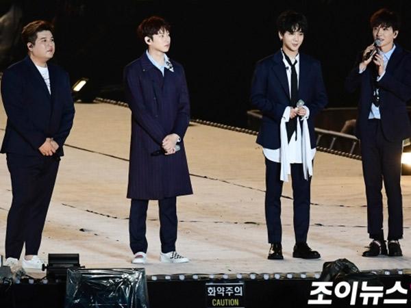 Tangis Super Junior Warnai Pembukaan Tur Konser 'SMTOWN LIVE VI in Seoul'