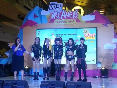 Heboh! Talent Show Competition di IM3 Dreamers Festival