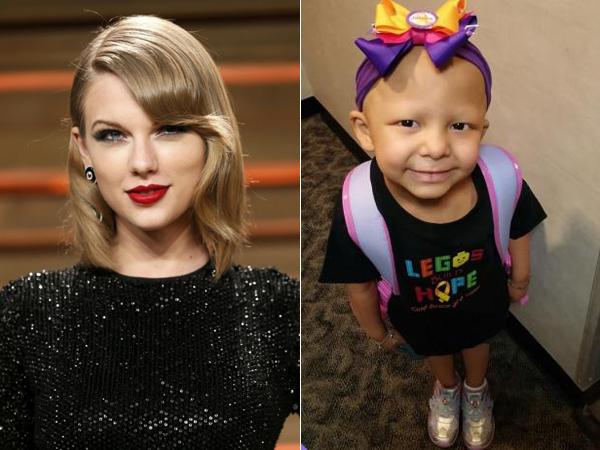 Taylor Swift Kabulkan Permintaan Terakhir Fans Ciliknya yang Mengidap Kanker Otak