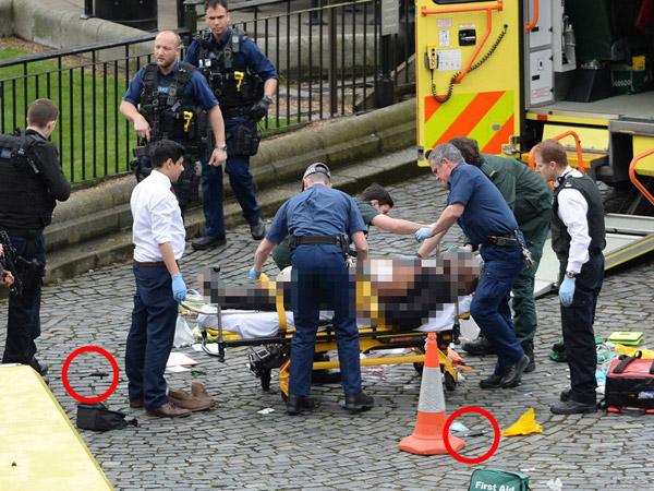 Hanya 10 Menit, Teror Brutal London Buat Warga 'Terlempar' ke Udara
