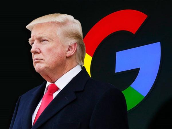Pernyataan Mengejutkan Trump Soal Google Manipulasi Jutaan Suara untuk Hillary: Pantas Digugat!