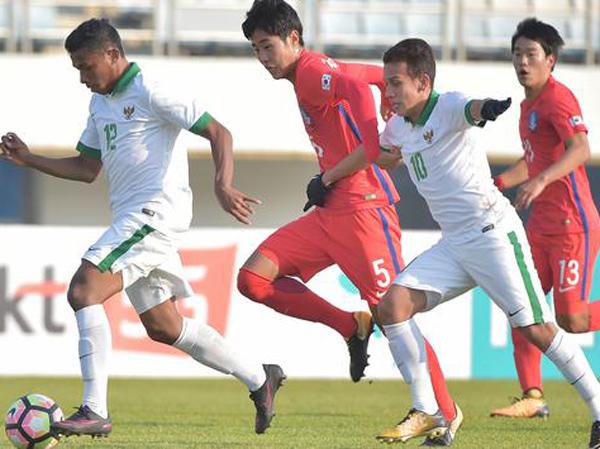 Timnas U-19 Harus Takluk Hadapi Korea Selatan