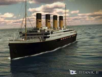 Titanic II Siap Berlayar Pada 2016 Mendatang