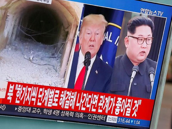 'PHP' dan Buat Bingung, Trump Sebut Pertemuannya dengan Kim Jong Un Terjadi Sesuai Jadwal