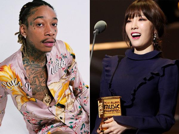 Duh, Wiz Khalifa Tuduh Taeyeon Bohong Soal Penjelasan Batalnya Kolaborasi di MAMA 2016?