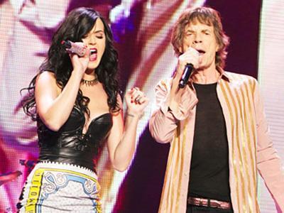 Katy Perry Ungkap Rahasianya dengan Band Legendaris Rolling Stones!