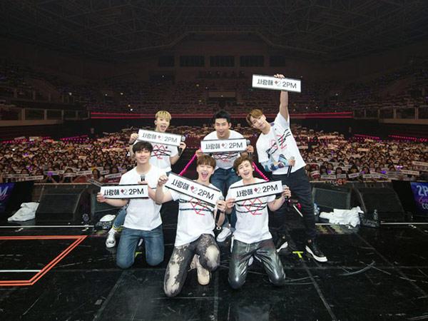 Digelar 6 Hari, 2PM Sukses Gelar Konser Terakhirnya Sebelum Wajib Militer!
