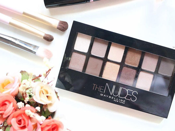 Review : Maybelline The Nudes Palette
