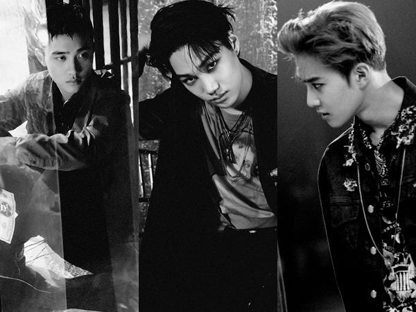 Tiga Member EXO Tampil Kharismatik di Teaser Album Repackaged 'Lotto'