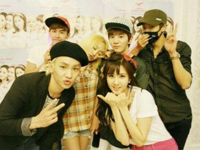 Seohyun SNSD Unggah Foto Bareng Geng '91 Line di Situs Resminya