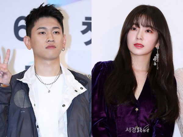 Tipe Idaman, Crush Ungkap Cerita Kocak Saat Ketemu Irene Red Velvet di Acara Musik