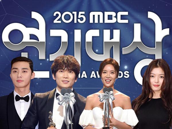 Didominasi oleh 'Kill Me Heal Me', Ini Sederet Peraih Penghargaan 'MBC Drama Awards 2015'!