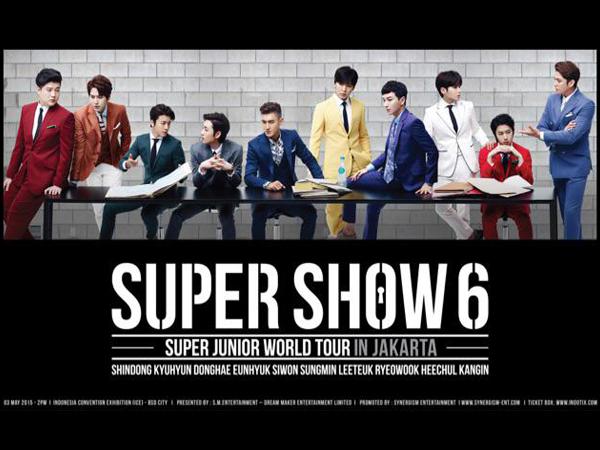 Kembali Gelar Konser di Jakarta, Super Junior Minta Disediakan Banyak Pisang