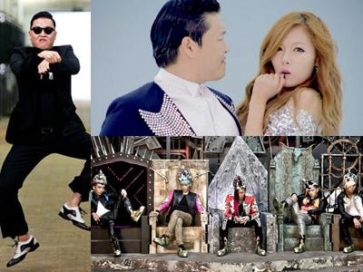 Artis YG Entertainment Dominasi Youtube di Tahun 2012